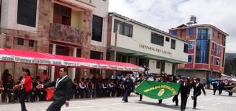 DELEGACION DE TORATA PRESENTE  EN EL ANIVERSARIO DE SAN CRISTOBAL Y CUCHUMBAYA