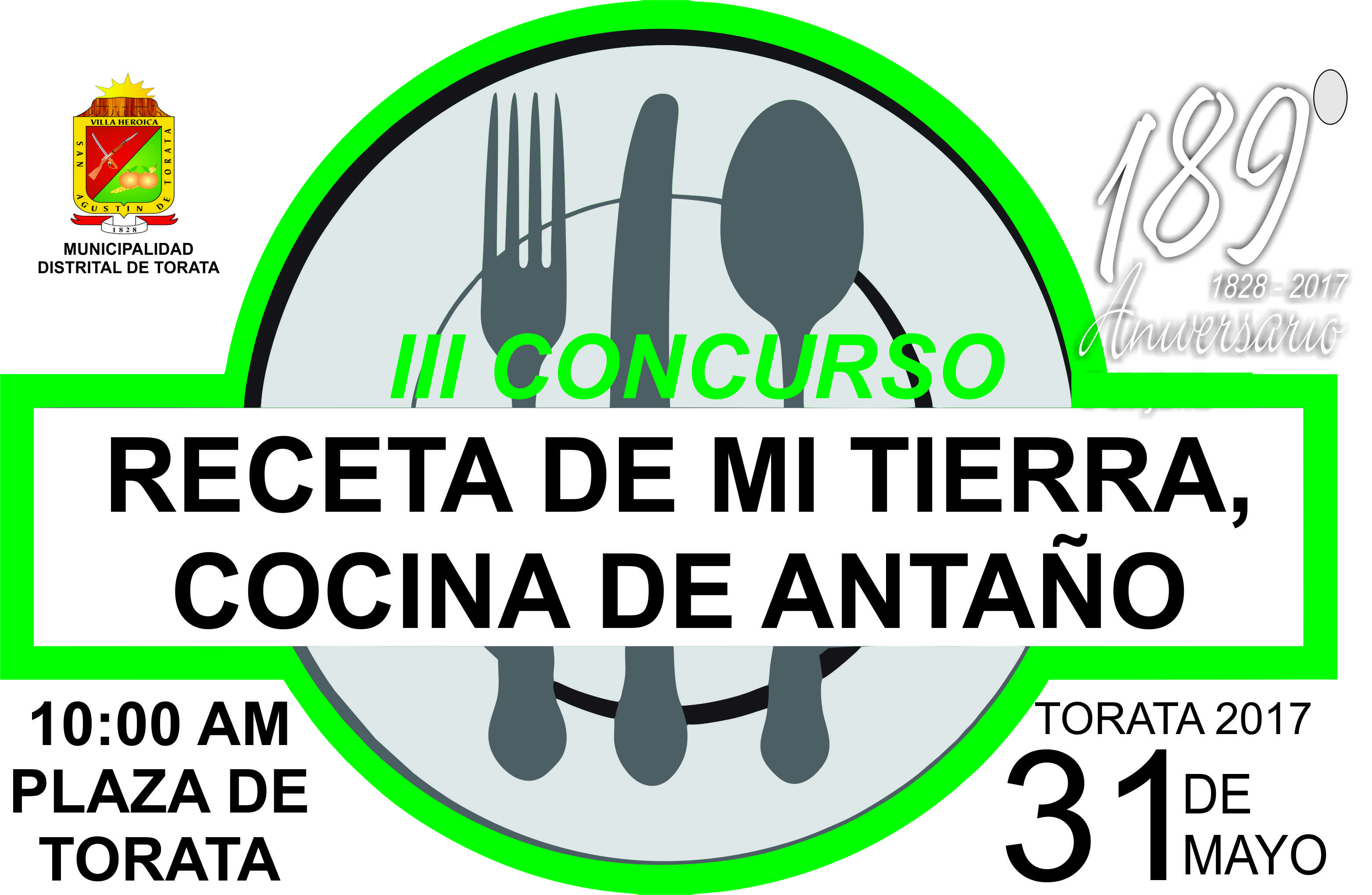 Bases del iii concurso receta de mi tierra cocina de - Concurso de cocina ...