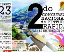 """MÁS DE OCHENTA ARTISTAS COMPETIRÁN EN EL II CONCURSO NACIONAL DE PINTURA RÁPIDA """"TORATA ES INSPIRACIÓN 2017"""""""
