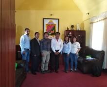 FUNCIONARIOS DEL MINISTERIO DE COMERCIO EXTERIOR Y TURISMO VISITAN TORATA