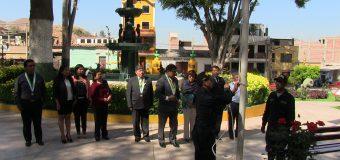 AUTORIDADES REALIZARON  HOMENAJE AL REMEMORAR EL ANIVERSARIO DE LA BATALLA DE TORATA