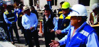 EN CUARENTA DÍAS ENTRARÍA EN OPERATIVIDAD LA PLANTA DE TRATAMIENTO DE AGUA POTABLE DE TORATA