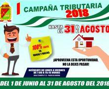 INICIAN I PRIMERA CAMPAÑA DE AMNISTÍA TRIBUTARIA TORATA 2018
