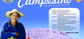 PRESENTAN PROGRAMA DE ACTIVIDADES POR EL DÌA DEL CAMPESINO  EN TORATA