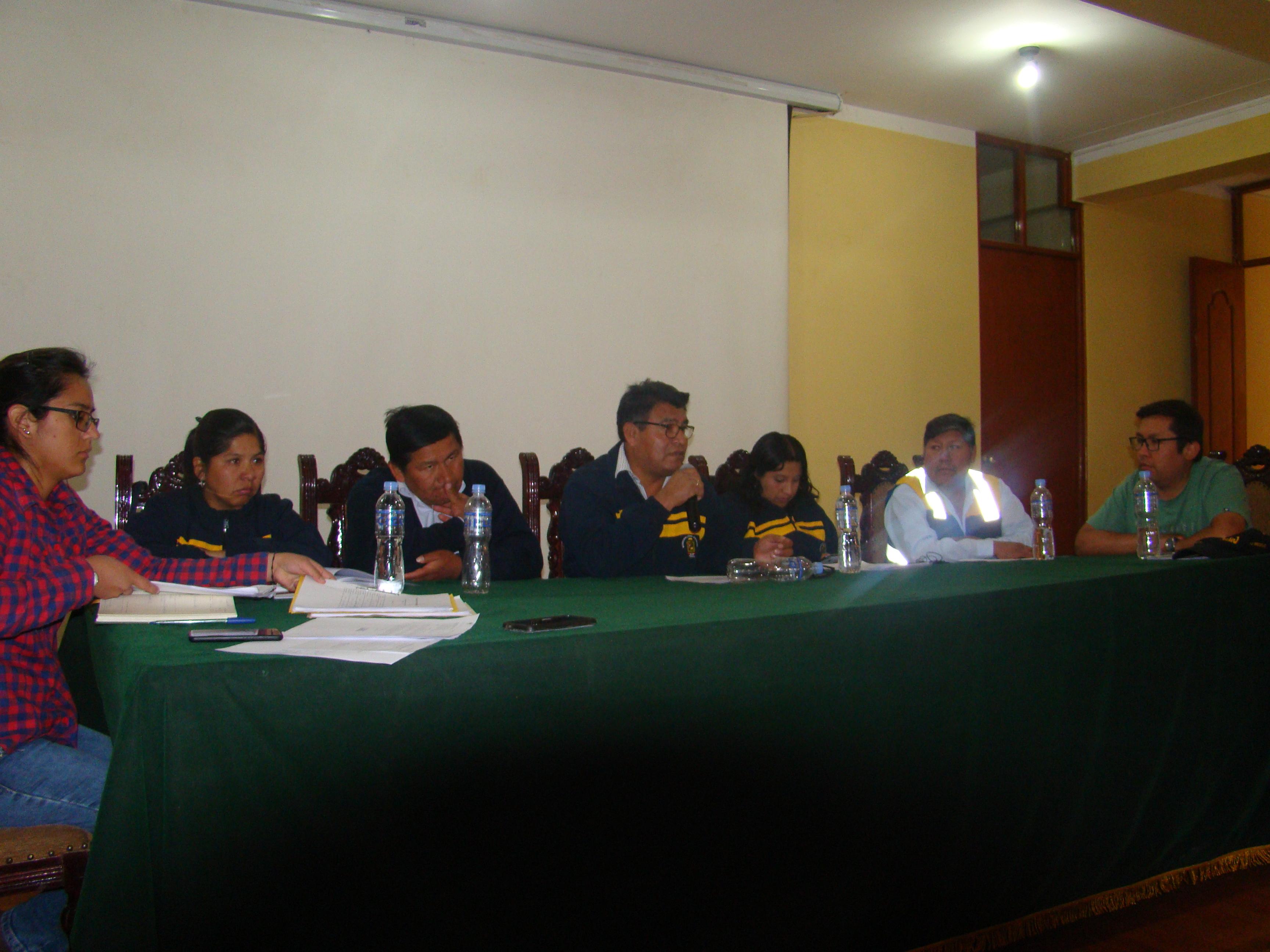 PLENO DE CONCEJO APRUEBA DONACIÒN DE BIENES PARA I. E. I. Nº 155 SANTA TERESITA DE TORATA