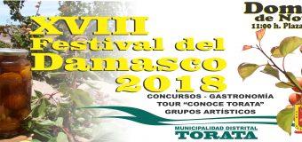 MDT SE PREPARA PARA ORGANIZAR EL XVIII FESTIVAL DEL DAMASCO
