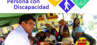 OMAPED ORGANIZA ACTIVIDADES POR EL DÍA NACIONAL DE LA PERSONA CON DISCAPACIDAD
