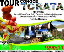 """MUNICIPALIDAD DISTRITAL DE TORATA VIENE PROMOVIENDO EL TOUR """"CONOCE TORATA"""""""