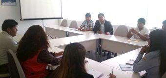 ALCALDE DE TORATA INICIA GESTIONES PARA IMPULSAR PROYECTO DE AGUA Y DESAGÜE EN TUMILACA
