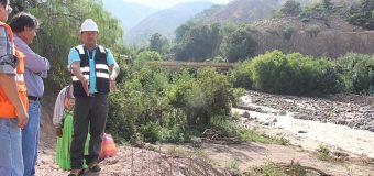 MUNICIPALIDAD DE TORATA EMPRENDE ACCIONES ANTE LOS DAÑOS POR EL INCREMENTO DEL RIO MOQUEGUA EN EL VALLE DE TUMILACA