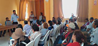 ALCALDE DE TORATA INSTA AL MINISTERIO DE AGRICULTURA COMPROMETER PRESUPUESTO PARA REHABILITAR LOS DAÑOS EN TUMILACA