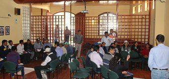 INICIAN LOS TALLERES DEL PROCESO DE PRESUPUESTO PARTICIPATIVO PARA EL AÑO FISCAL 2020 EN EL DISTRITO DE TORATA