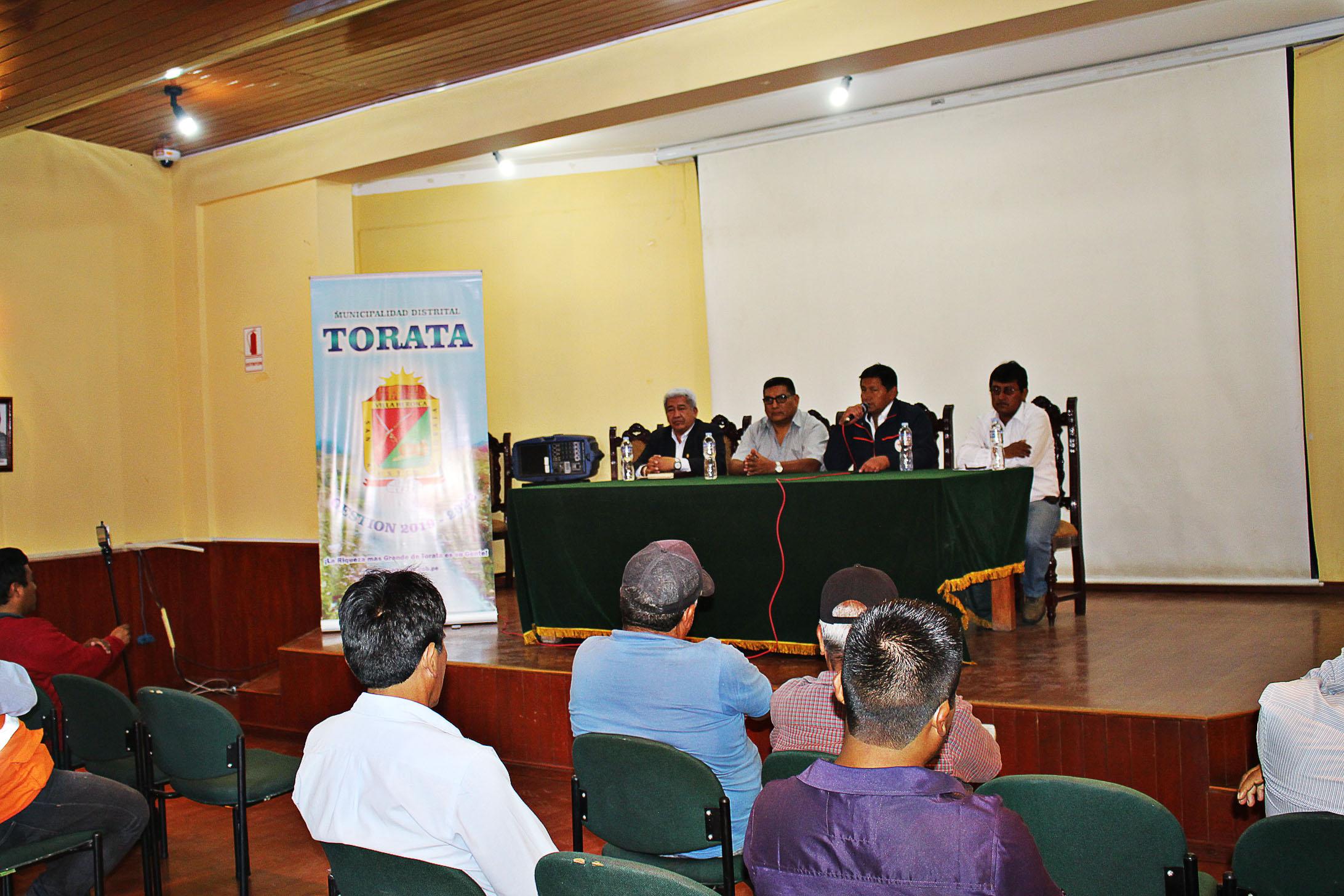 CONGRESISTA FIDEL MANTILLA MEDINA LLEGA A TORATA PARA ATENDER DE CERCA LOS CASOS DE CONTAMINACIÓN EN EL DISTRITO