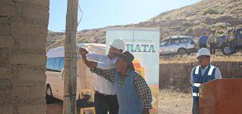 VECINOS DE CAMATA Y MOLLEBAYA YA CUENTAN CON ENERGÍA ELÉCTRICA GRACIAS A LA MUNICIPALIDAD DE TORATA