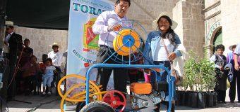 MUNICIPALIDAD DISTRITAL DE TORATA RINDE MERECIDO HOMENAJE POR DIA DE LOS AGRICULTORES TORATEÑOS