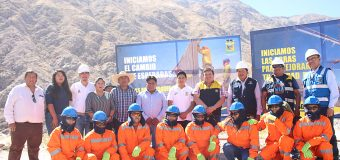 AUTORIDADES DE FORMA CONJUNTA INICIAN TRABAJOS DE REHABILITACIÓN EN LA CARRETERA TUMILACA – POCATA COSCORE