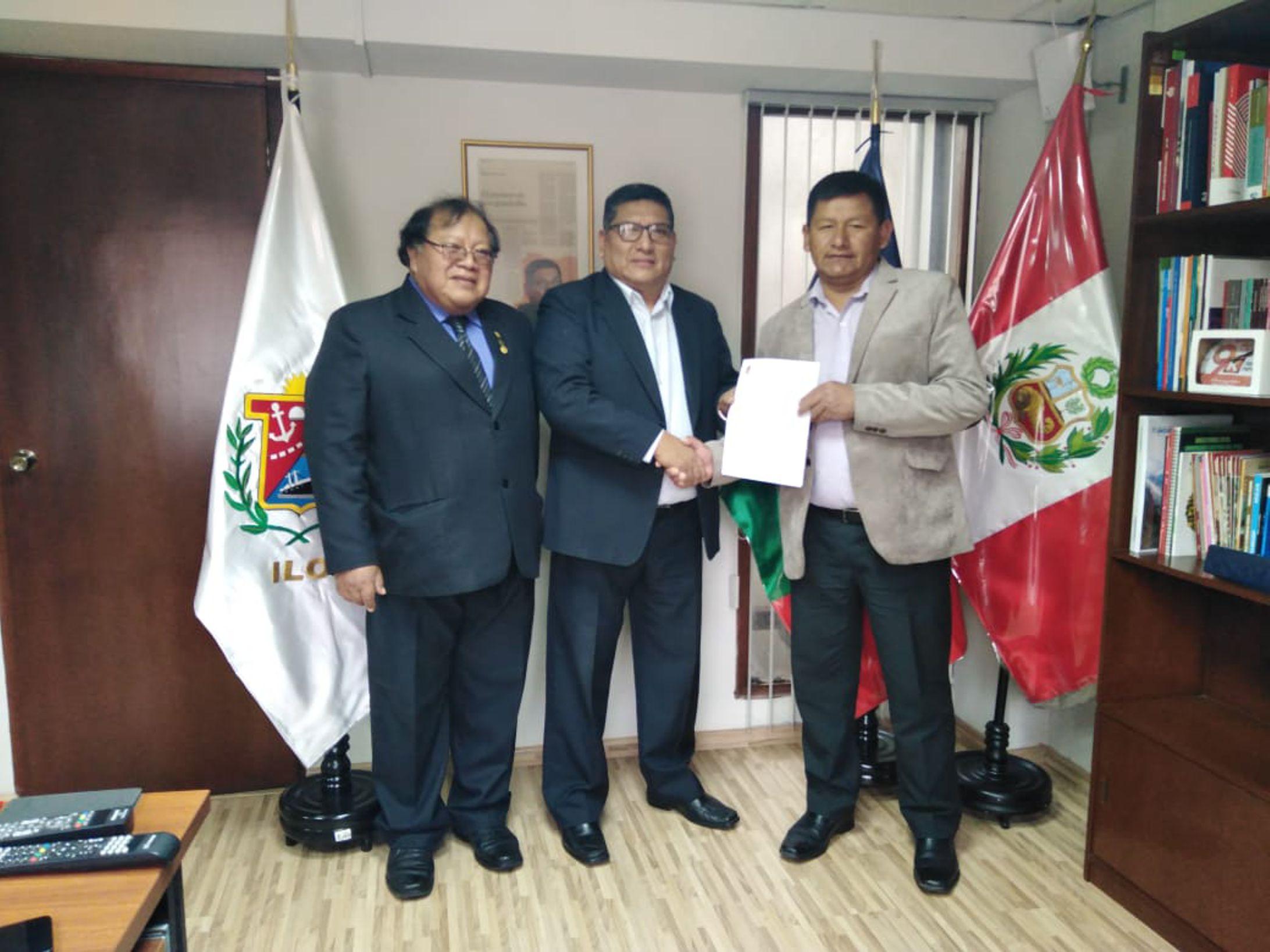 ALCALDE GESTIONA ANTE EL CONGRESO LEY PARA DECLARAR DE INTERÉS NACIONAL LA PUESTA EN VALOR DEL CERRO BAÚL