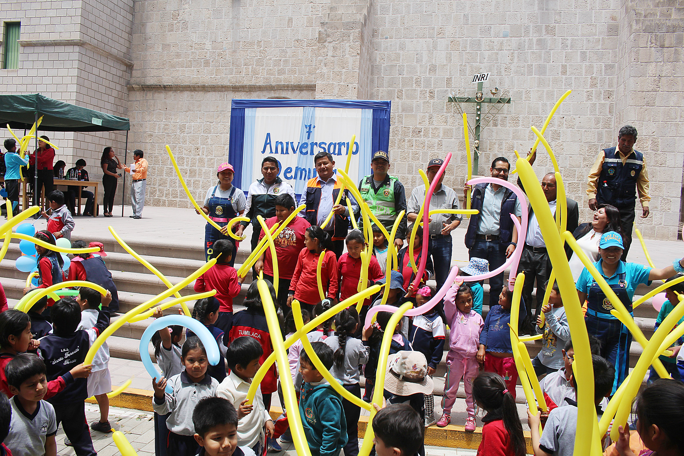 DEMUNA CUMPLE 07 AÑOS AL SERVICIO DE LA DEFENSA DE LOS DERECHOS DE NIÑAS, NIÑOS Y ADOLESCENTES EN TORATA
