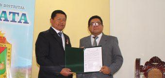 SERVIR Y MUNICIPALIDAD DE TORATA IMPLEMENTAN CONVENIO PARA EL FORTALECIMIENTO DE LA GESTION PUBLICA