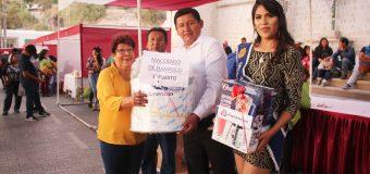 DISTRITO DE TORATA EXPUSO LO MEJOR DE SU PRODUCTO BANDERA EN EL XIX FESTIVAL DEL DAMASCO 2019