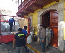 ALCALDE DE TORATA GESTIONA KITS DE ALIMENTOS Y MÁS APOYO A EMPRESAS PRIVADAS PARA ENFRENTAR LA EMERGENCIA POR EL COVID-19