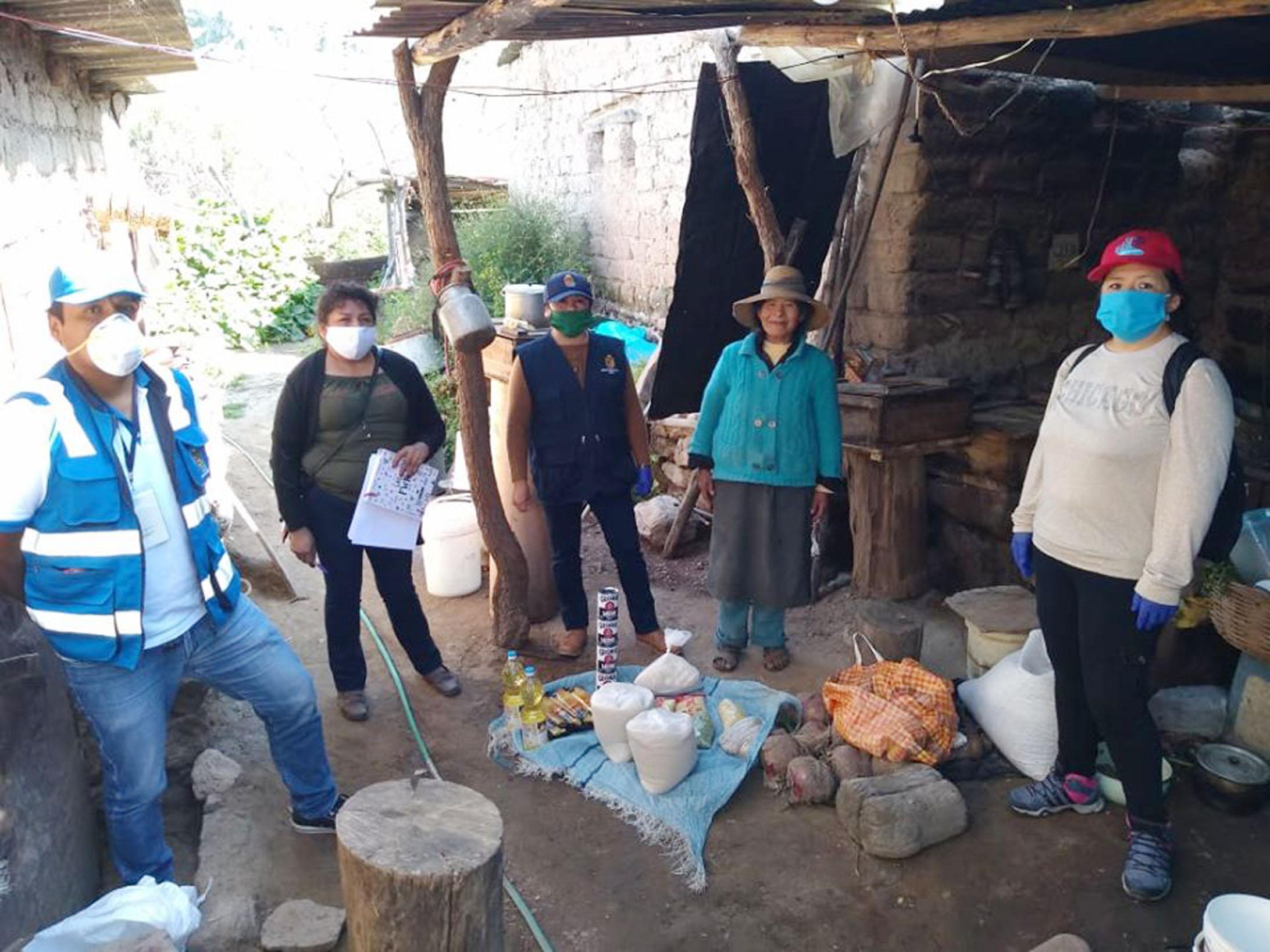 MUNICIPALIDAD DE TORATA INICIA ENTREGA DE CANASTAS FAMILIARES A FAMILIAS IDENTIFICADAS EN EL DISTRITO