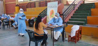 POBLACION DE TORATA RECIBIO ASISTENCIA MEDICA PARA COMBATIR EL COVID-19 EN EL DISTRITO