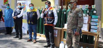 ALCALDE DE TORATA SOLICITA AL GERENTE REGIONAL DE SALUD EL FUNCIONAMIENTO LAS 24 HORAS DE LOS ESTABLECIMIENTOS MEDICOS EN EL DISTRITO