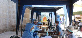 NUEVAMENTE LA OPERACION TAYTA SE DESPLEGO POR DIFERENTES SECTORES DEL DISTRITO DE TORATA PARA PREVENIR EL CONTAGIO POR EL COVID-19
