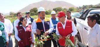 ALCALDE DE TORATA RECIBE AL MINISTRO DE AGRICULTURA PARA ATENDER LA PROBLEMÁTICA HÍDRICA DEL DISTRITO