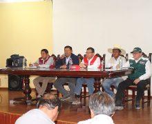 MINISTRO DE AGRICULTURA RETORNARA LA PRIMERA SEMANA DE FEBRERO PARA ATENDER LAS DEMANDAS DE LOS AGRICULTORES DE TORATA