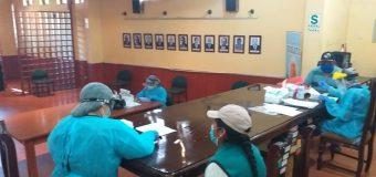 MUNICIPALIDAD DE TORATA REALIZA PRUEBAS PARA EL DESCARTE DEL COVID-19 A SU PERSONAL EDIL